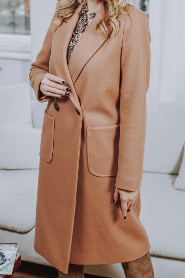 Płaszcz MILANO Camel 1