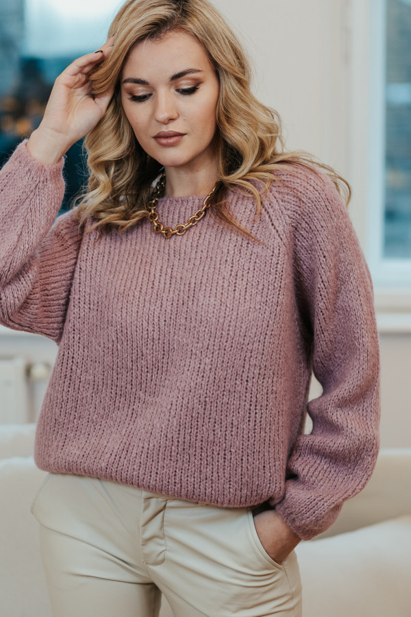 Sweter CHERIE Pink