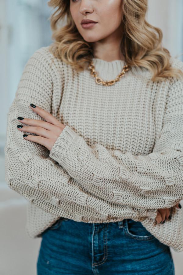 Sweter BARI Beige