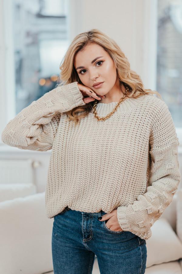 Sweter BARI Beige 1