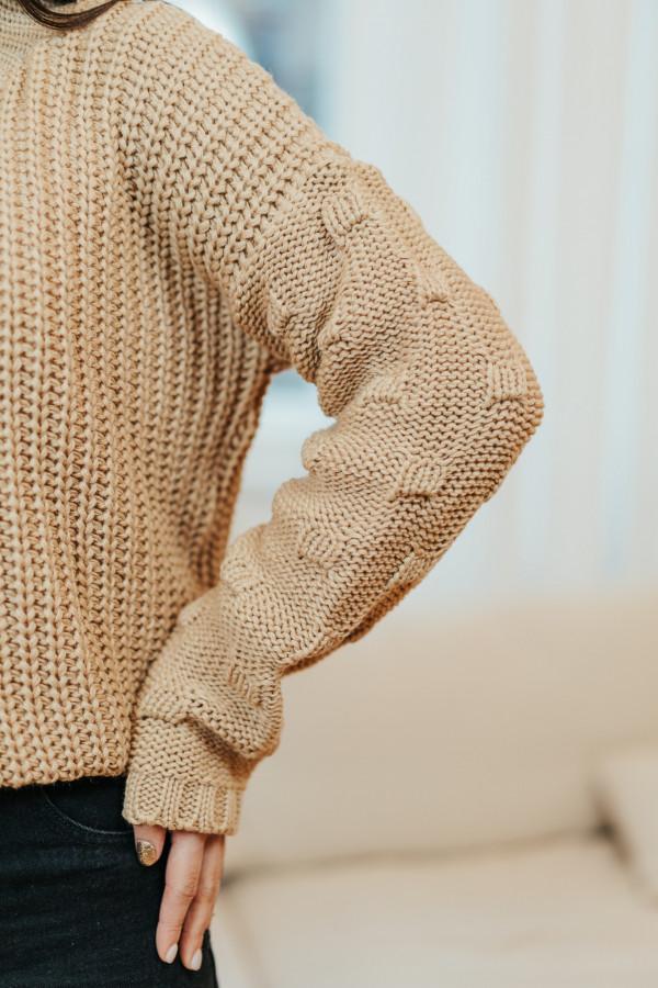 Sweter BARI Camel 1