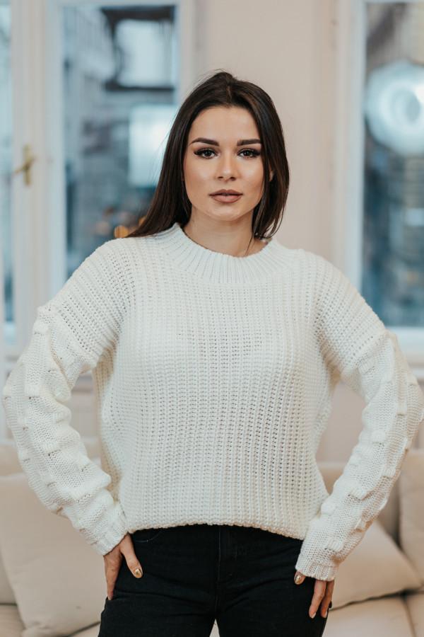 Sweter BARI White 1