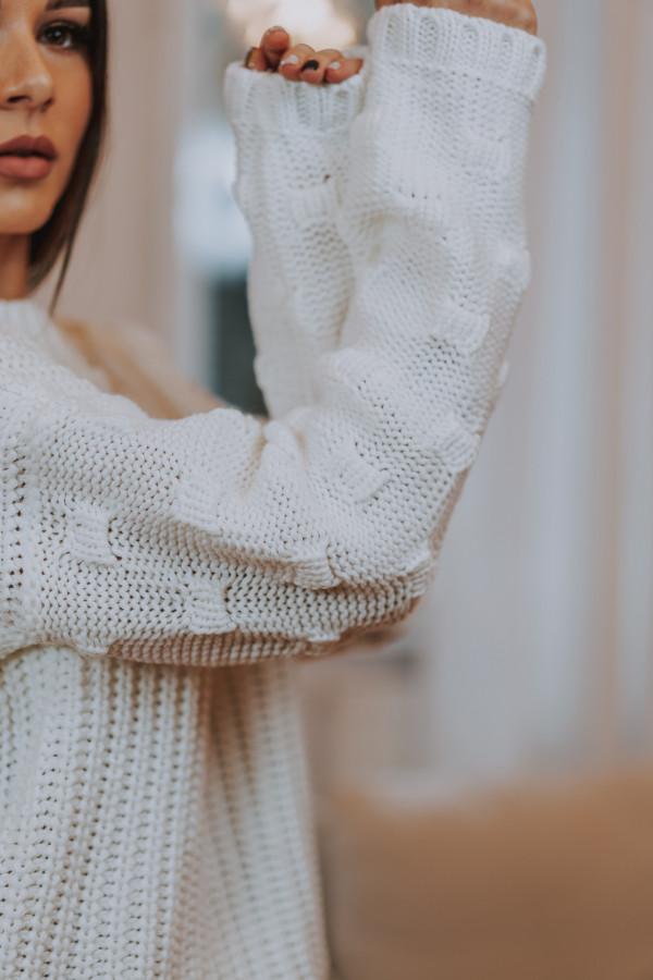 Sweter BARI White 2