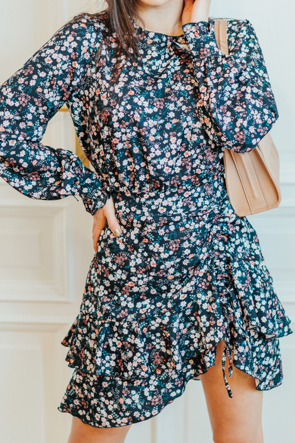 Sukienka FLORI Pink 3