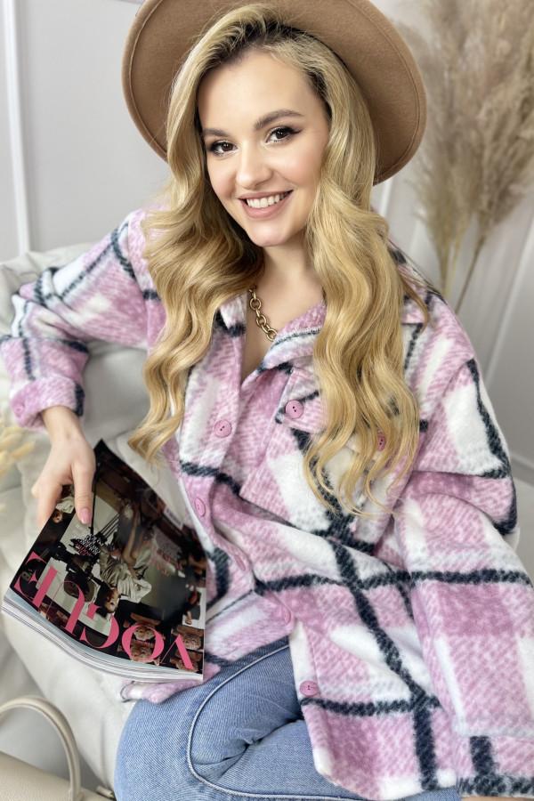 Koszula LUCA Pink 2