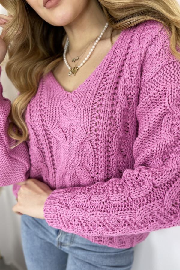 Sweter AUSTIN Fuchsia