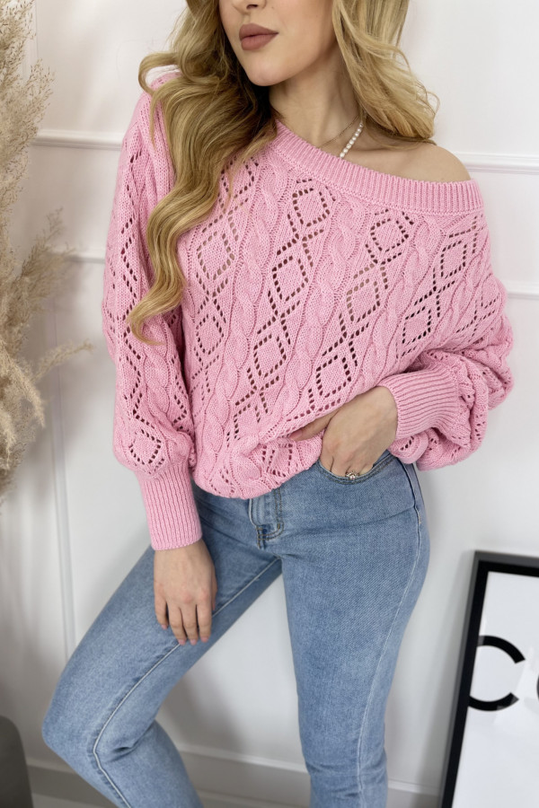 Sweter LOVE ME Pink 1