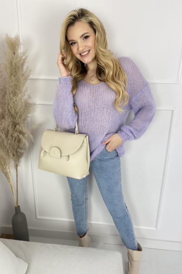 Sweter MIA moher lila 1