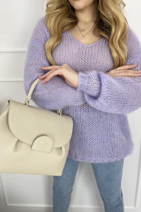 Sweter MIA moher lila 2