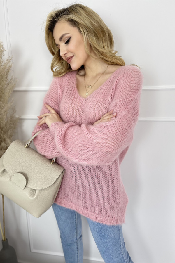 Sweter Mia moher Pink