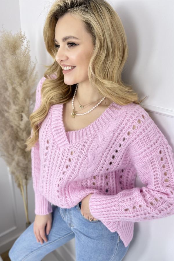Sweter MIA Sweet Pink 3