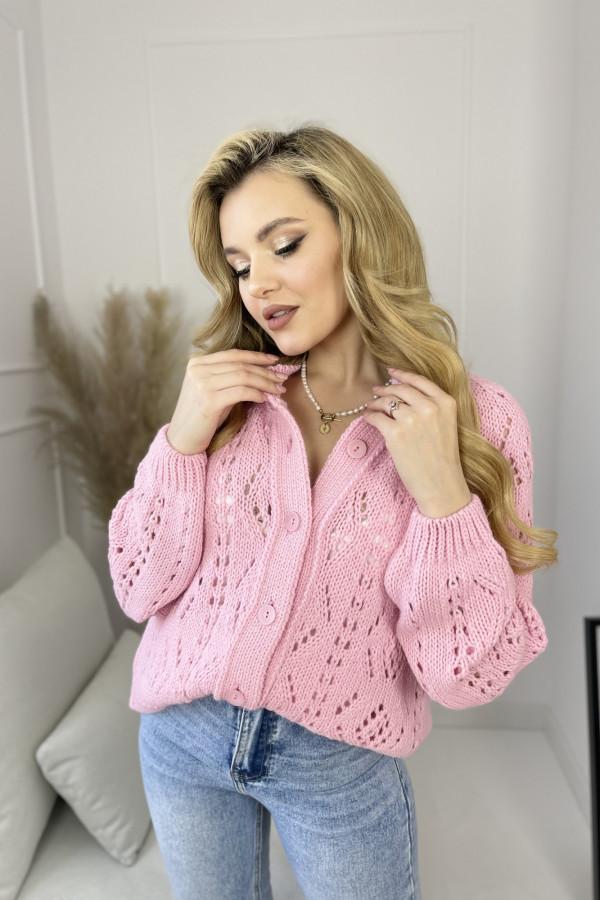 Kardigan ROSSA Sweet Pink 3