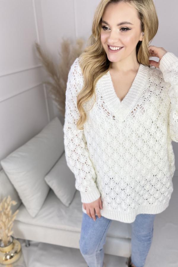 Sweter SHELLY Ecru 1