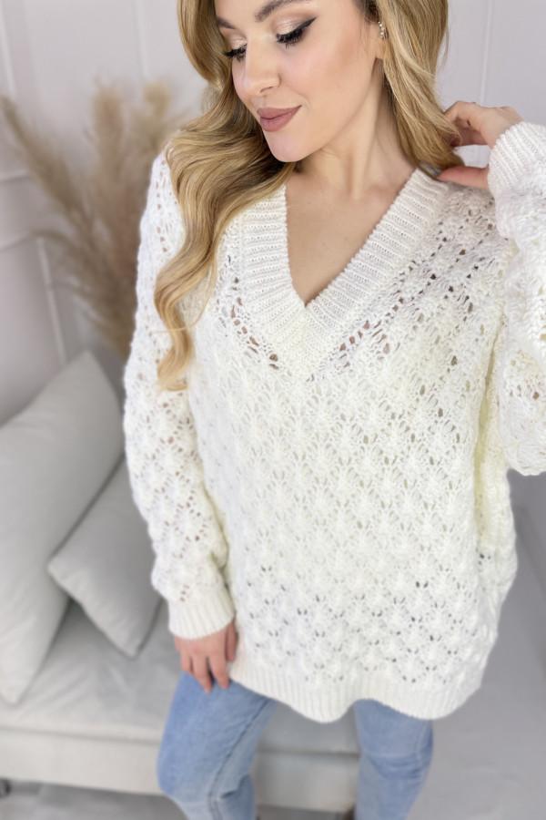 Sweter SHELLY Ecru 2