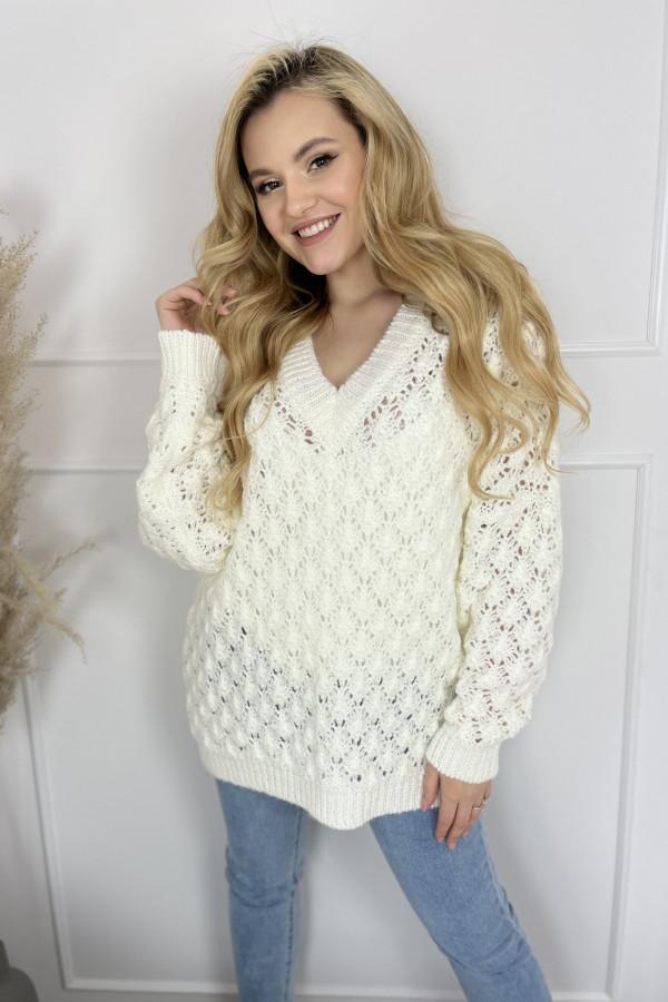 Sweter SHELLY Ecru 3