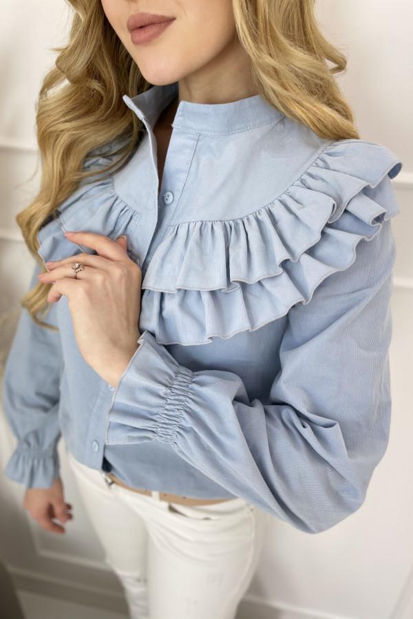 Koszula MERINO Baby Blue 2