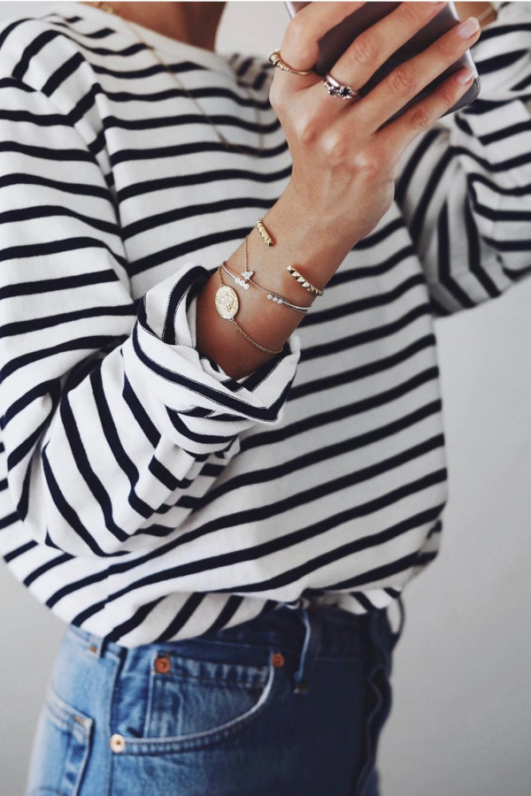 Bluzka LONG SLEEVE Stripes