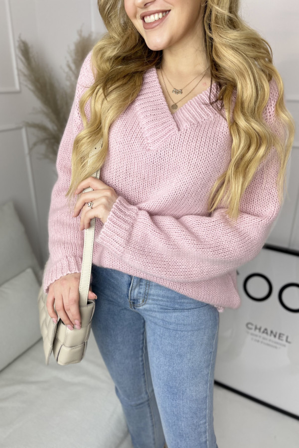 Sweter SUE Pink 2