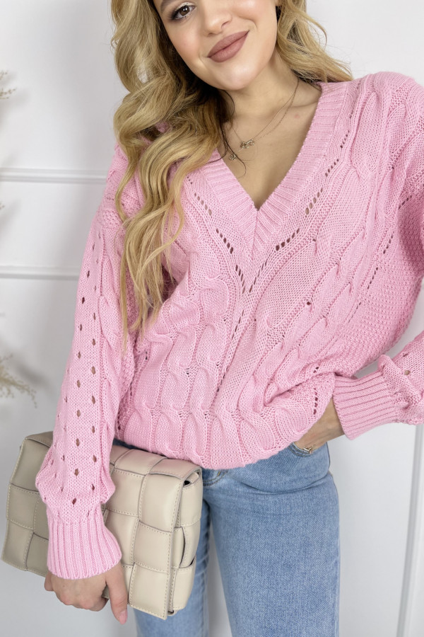 Sweter EMY Sweet Pink 1