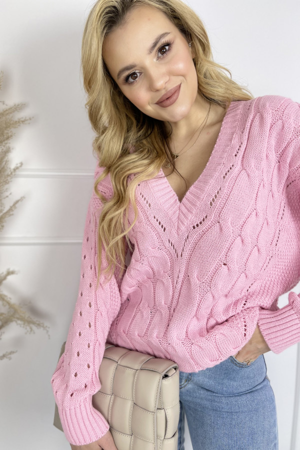 Sweter EMY Sweet Pink 3