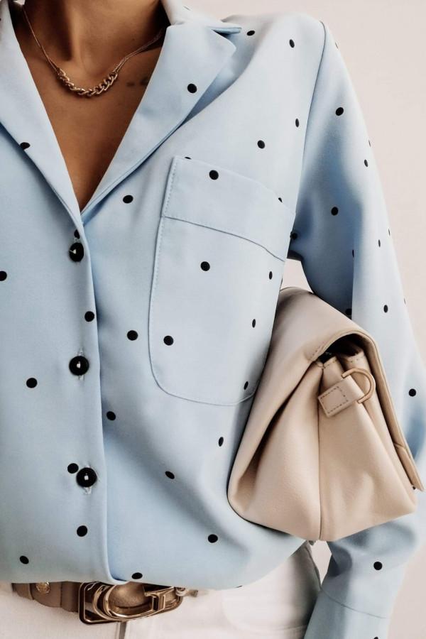 Koszula POULA Blue dots 1