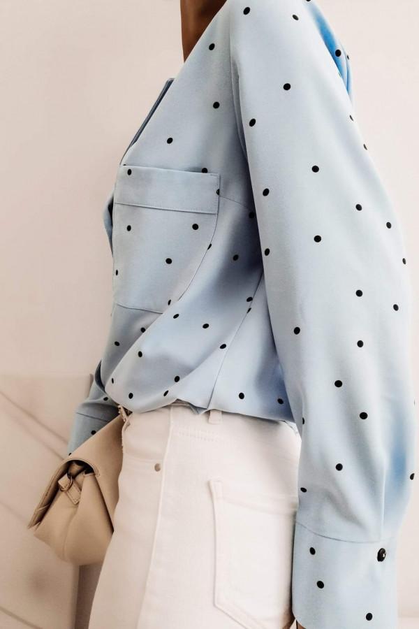 Koszula POULA Blue dots 2