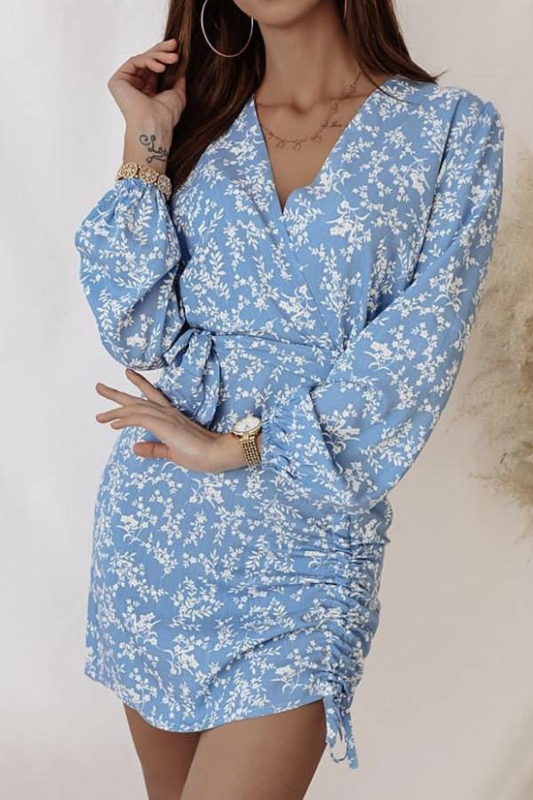 Sukienka MEGAN Light Blue