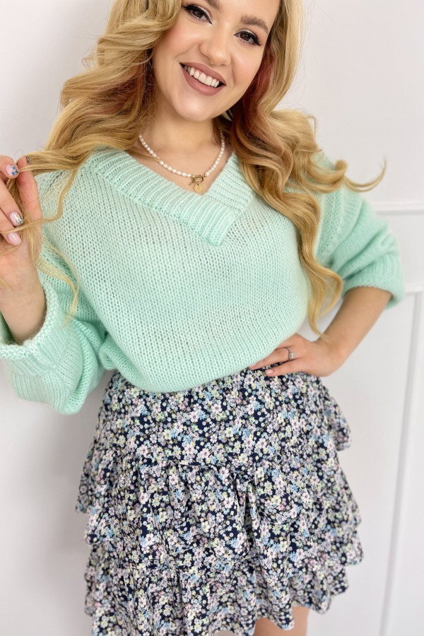 Sweter SUE MINT