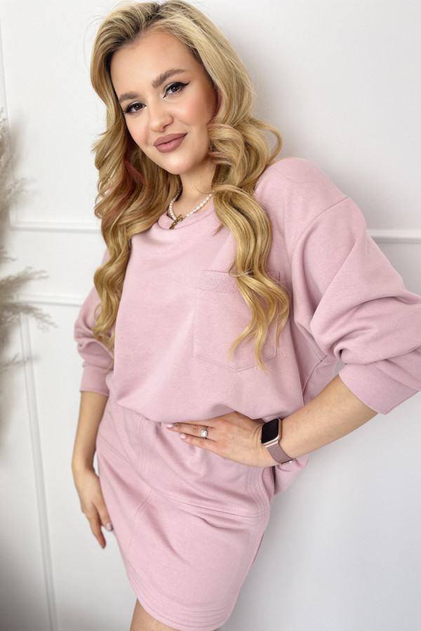 Bluza ALESSIA BABY PINK