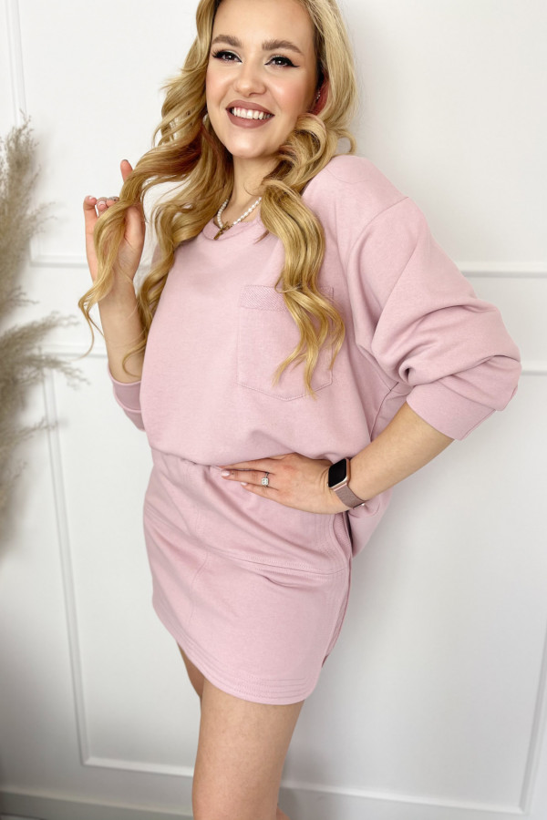 Bluza ALESSIA BABY PINK 2