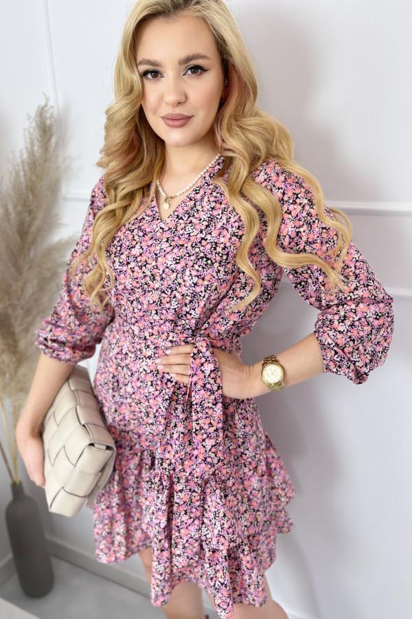 Sukienka ANYA Pink Flower