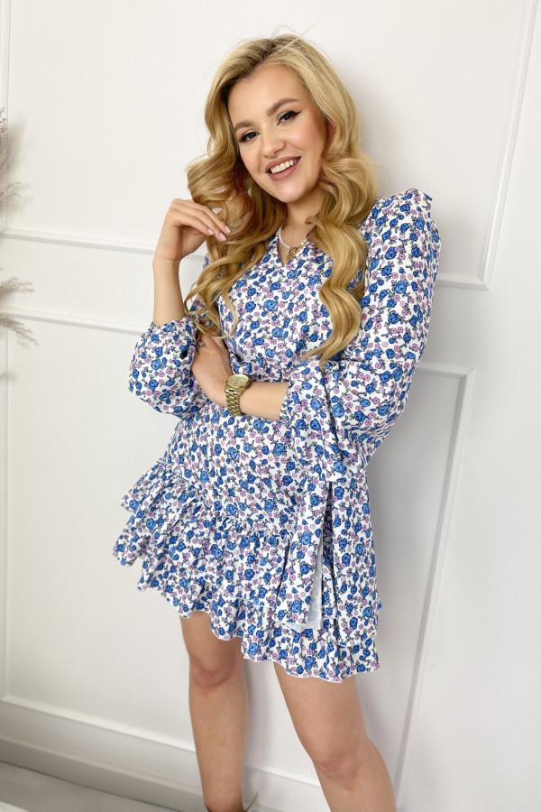 Sukienka AURORA Light BLUE