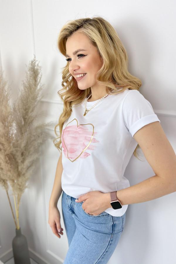 Tshirt LOVE White 3