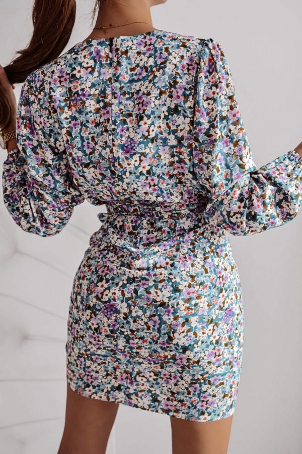 Sukienka SOFIA Mint Flower 2
