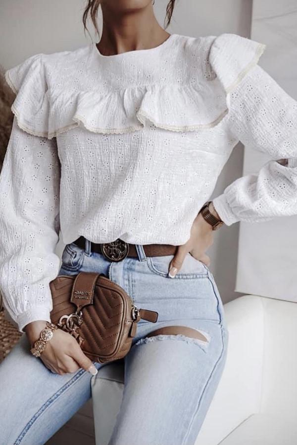 Bluzeczka STELLA White