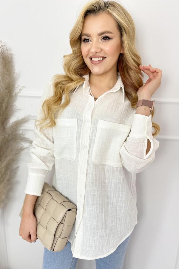 Koszula LEO White