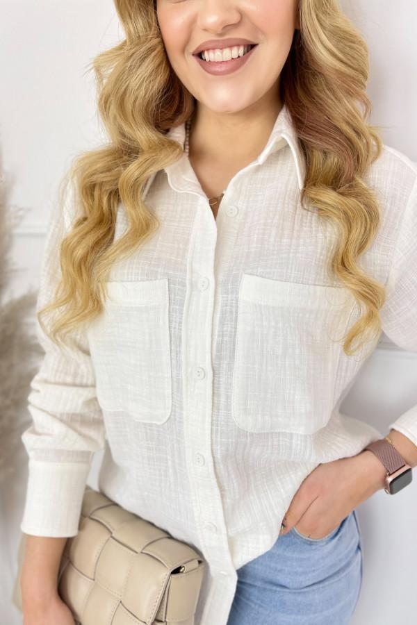 Koszula LEO White 1