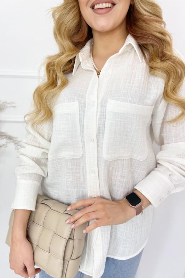 Koszula LEO White 3