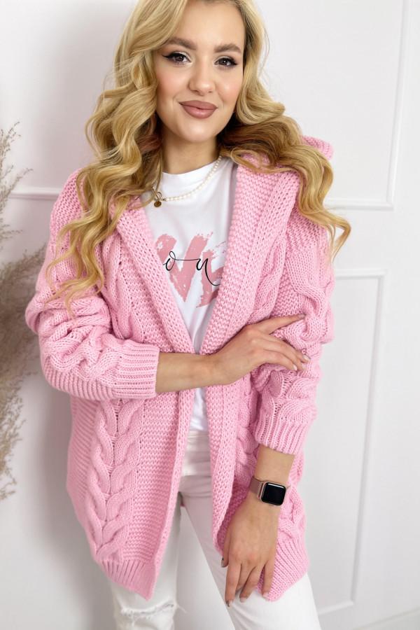 Kardigan IVO Sweet Pink