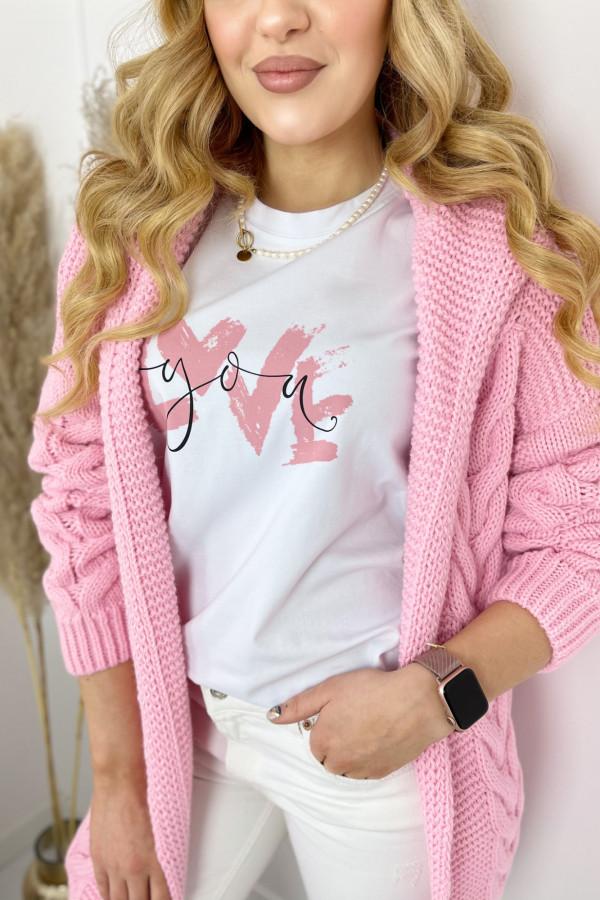 Kardigan IVO Sweet Pink 1