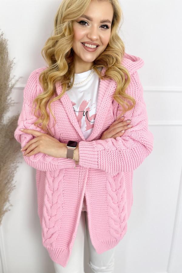 Kardigan IVO Sweet Pink 2