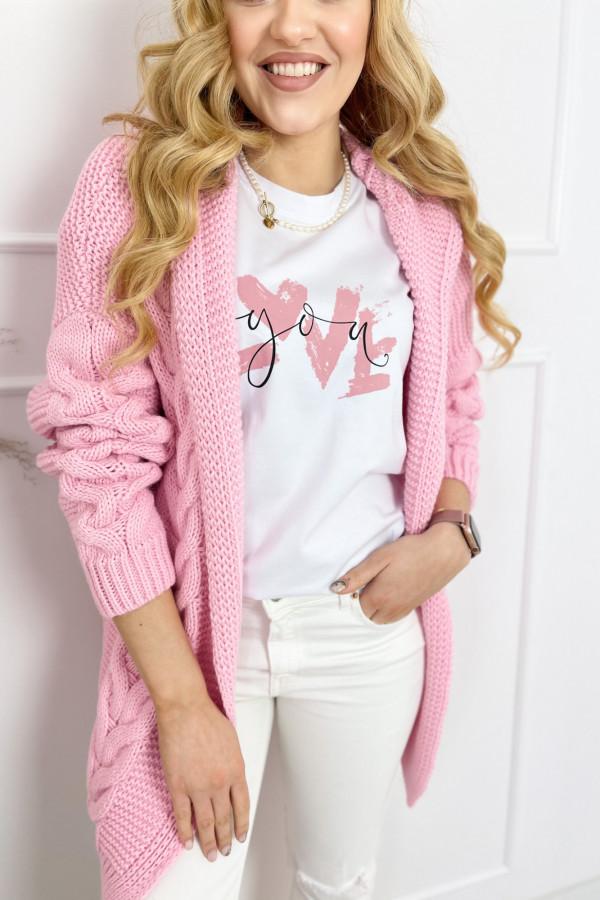 Kardigan IVO Sweet Pink 3