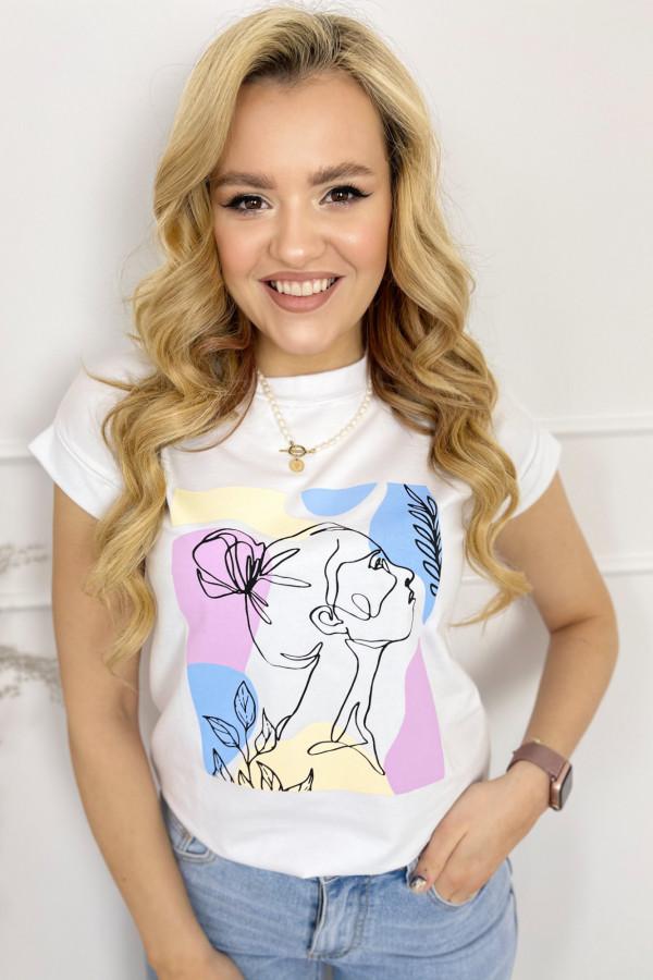 Tshirt SHE Multicolor 1