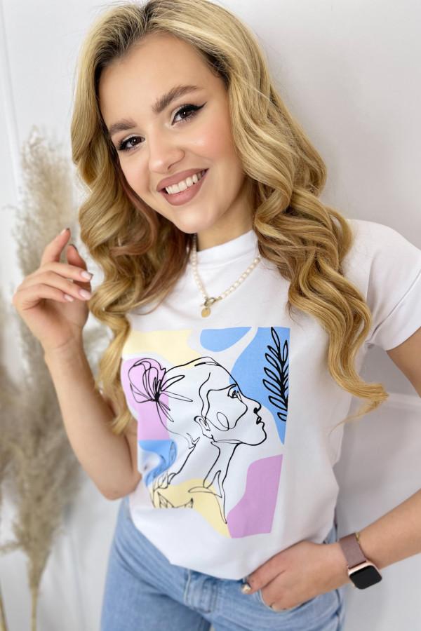 Tshirt SHE Multicolor 3