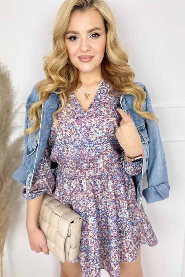 Sukienka BEATRICE Violet 3