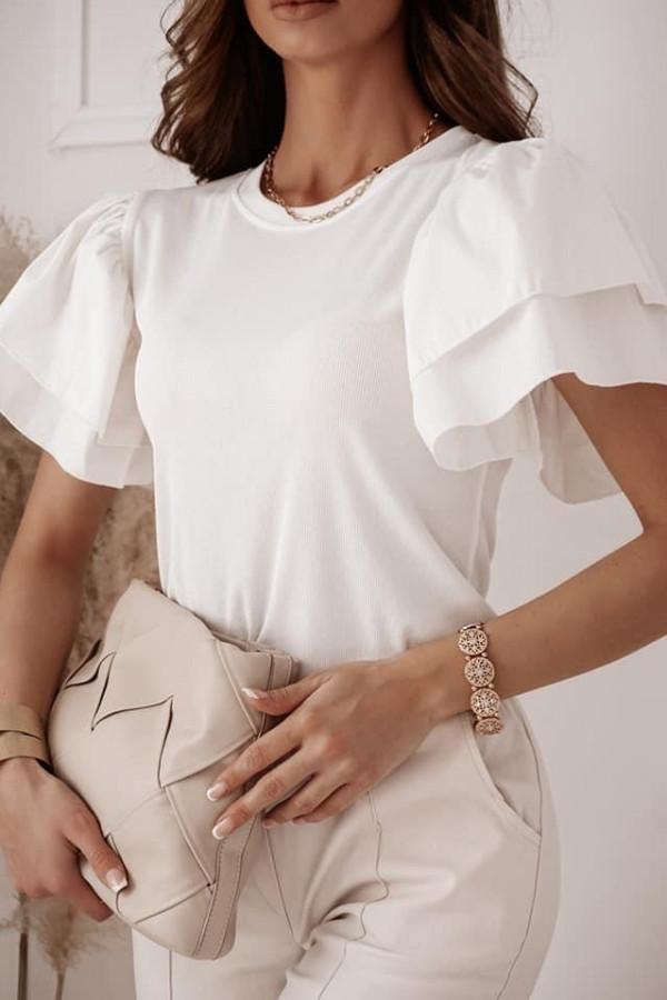 Bluzeczka ISLA White 1