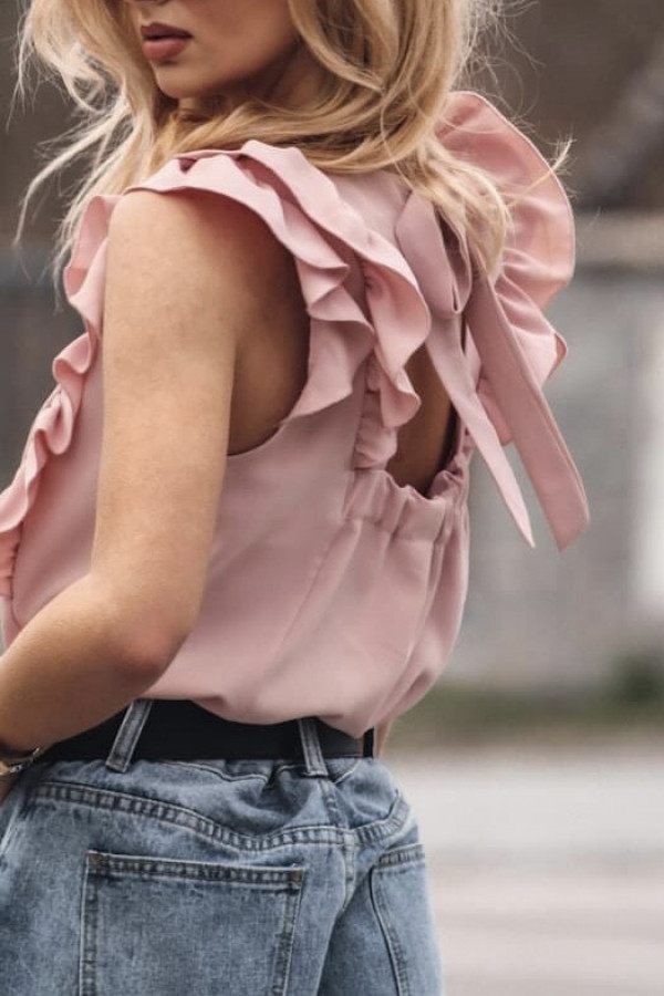 Bluzka SIMPLY Light Pink