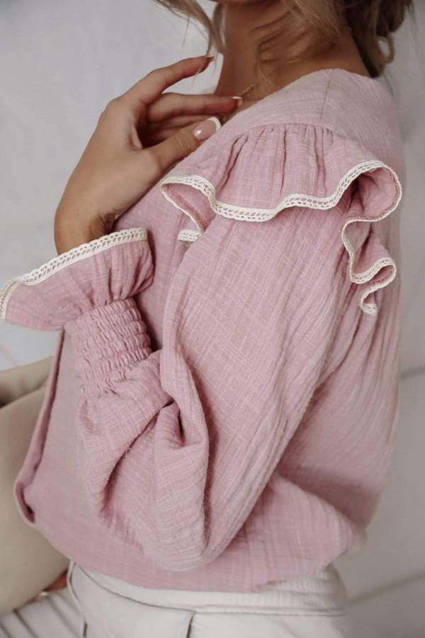 Bluzeczka NINA Light Pink 1