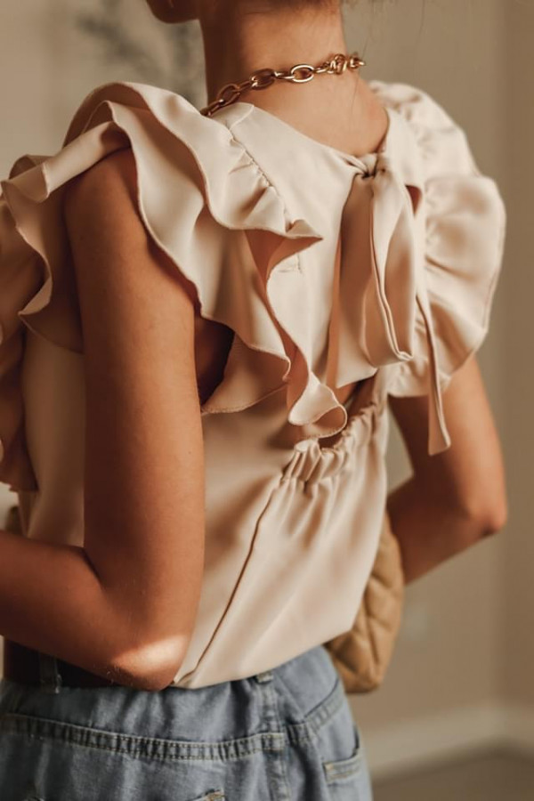 Bluzeczka SIMPLY Beige