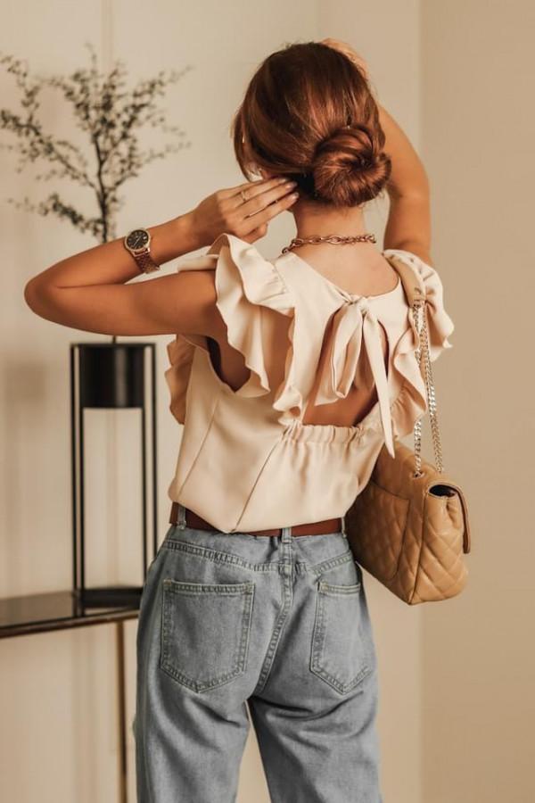 Bluzeczka SIMPLY Beige 1